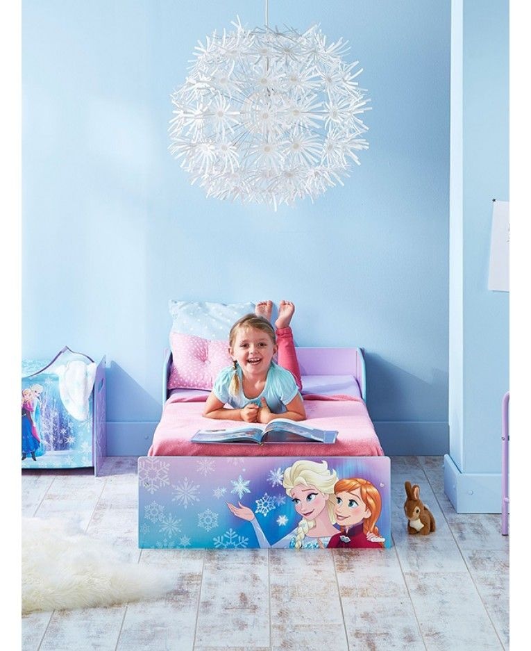 Disney Frozen Toddler Bed With Deluxe Foam Mattress Included New Kids Bed Childrens Bed With Mattress Children S Furniture Home Supplies Home Furniture Diy
