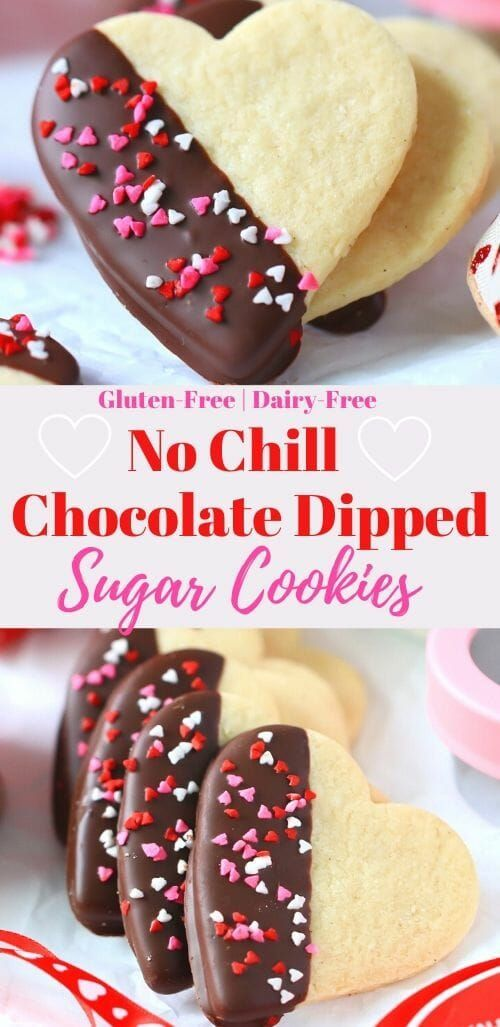 A delicious easy to make NO CHILLcut out sugar cookie recipe that's gluten-free and dairy-free. These are the perfect sugar cookie recipe to decorate for Valentine's Day or any Holiday. The perfect bit of chewy and soft baked.❤ #nochillsugarcookies #glutenfreesugarcookies #glutenfreevalentines #valentinessugarcookies #softsugarcookies #chewysugarcookies #heartsugarcookies #glutenfreeanddairyfree