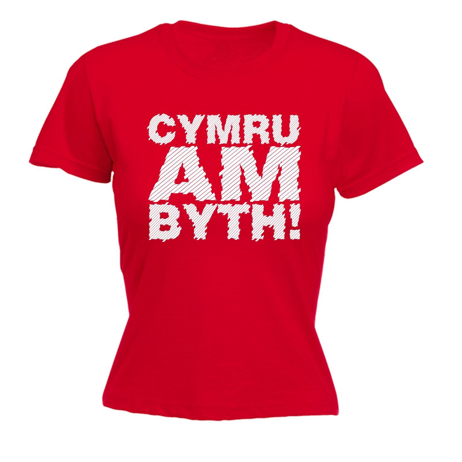 123t USA Women's Cymru Am Byth Funny T-Shirt