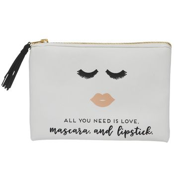 Photo of Love, Mascara & Lipstick Pouch | Hobby Lobby | 5287875