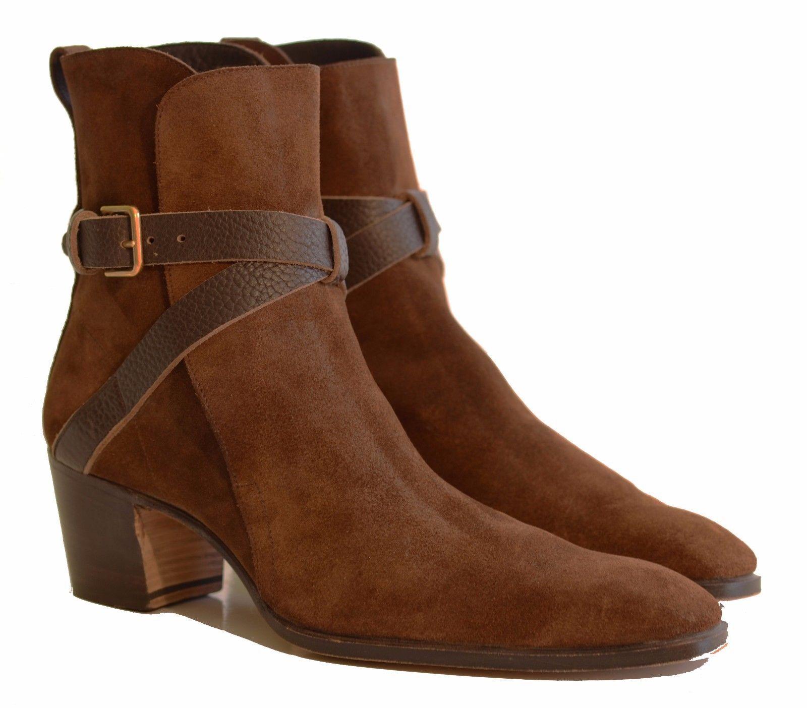 YSL Yves Saint Laurent Brown Jonny Betis Jodhpur Ankle Boots 42 9 5 Tom  Ford  c0927c47ca14