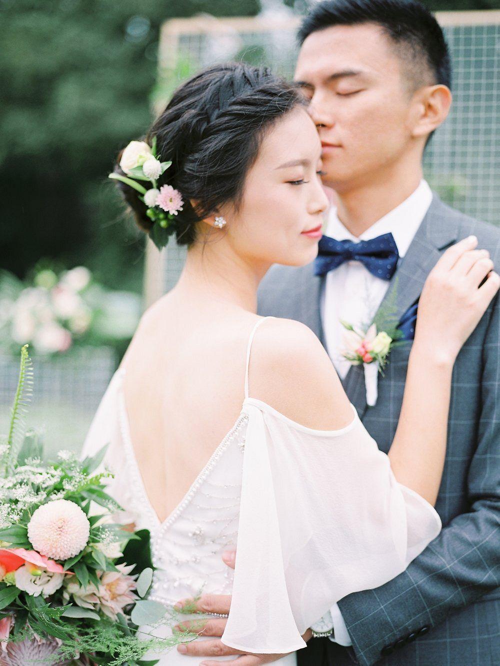 Western style chinese wedding weddings couples pinterest