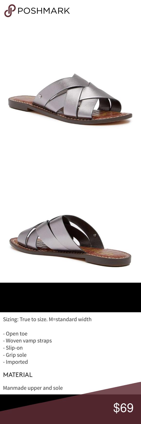 2d84e4adfba0 NIB Sam Edelman Gaile Slide Sandal New in Box Sam Edelman Gaile Slide  Sandal Color