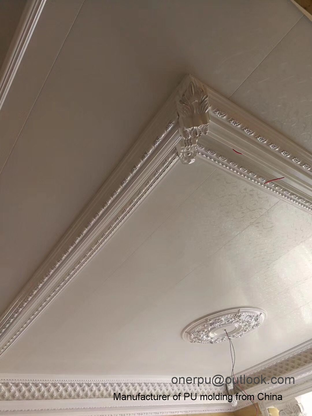 Ceiling Decor Pu Crown Moulding Cornice Wall Panel