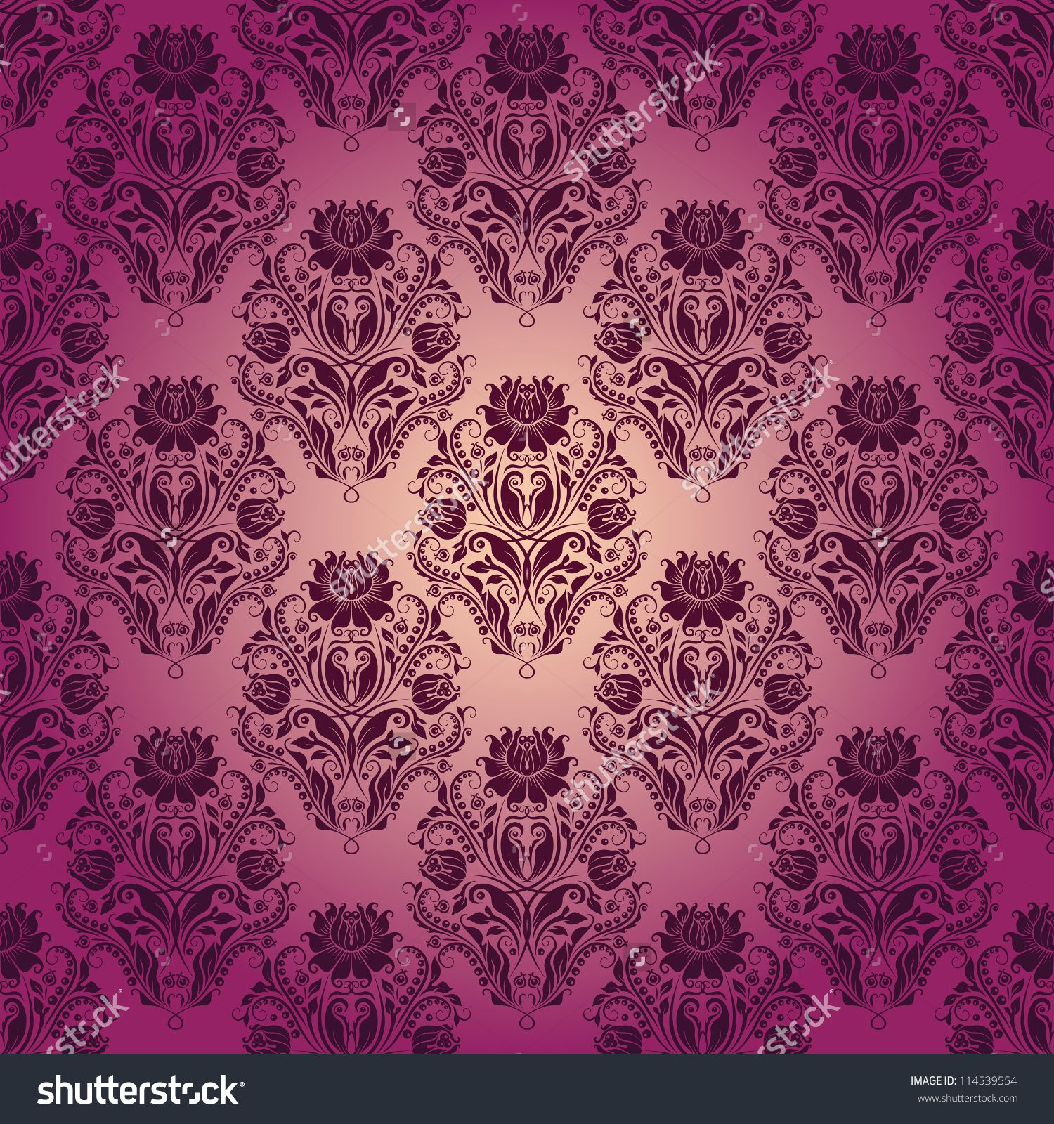 Rose Wallpaper Stock Vectors Vector Clip Art