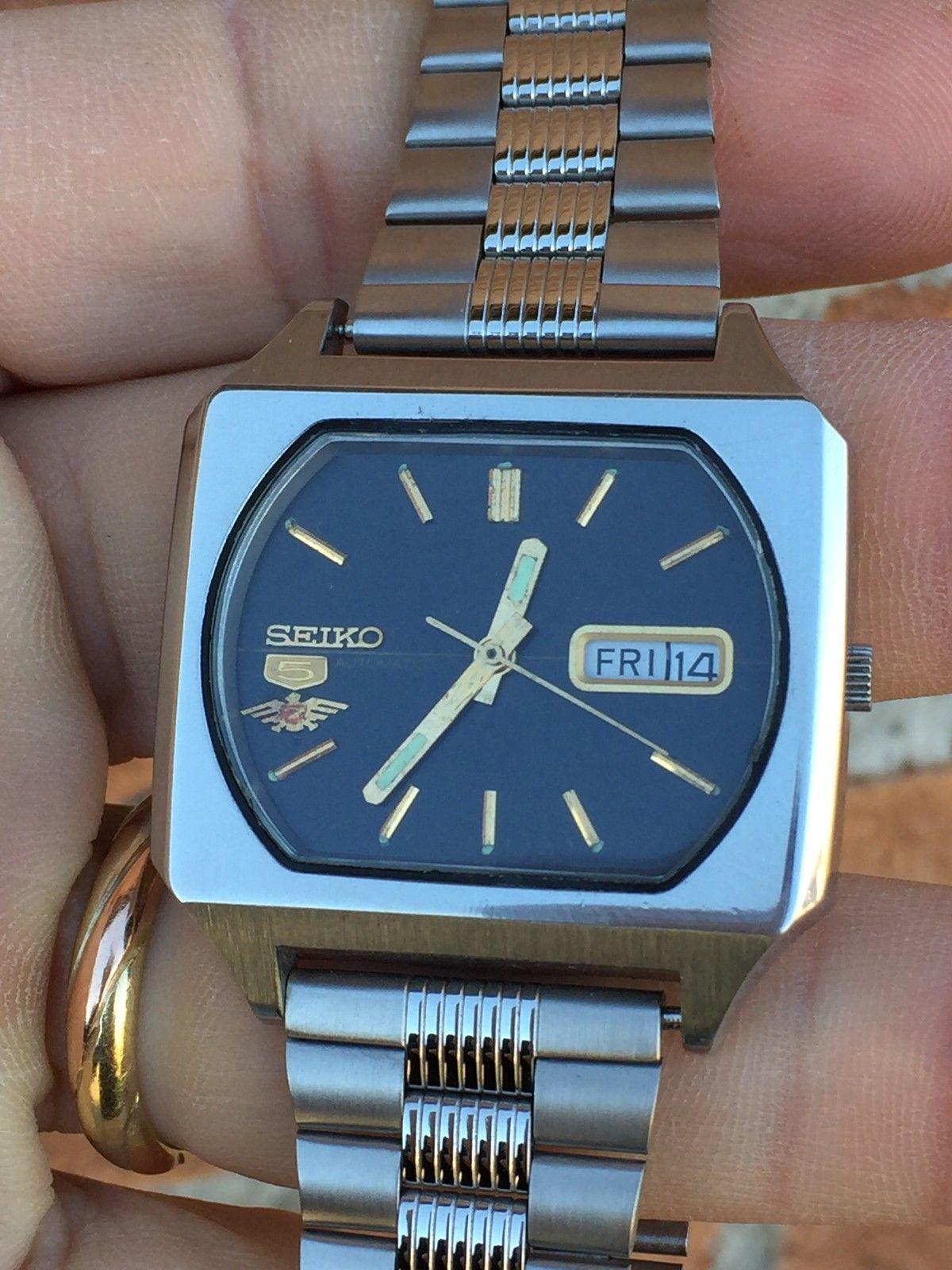 ساعات سيكو 5 قديمه