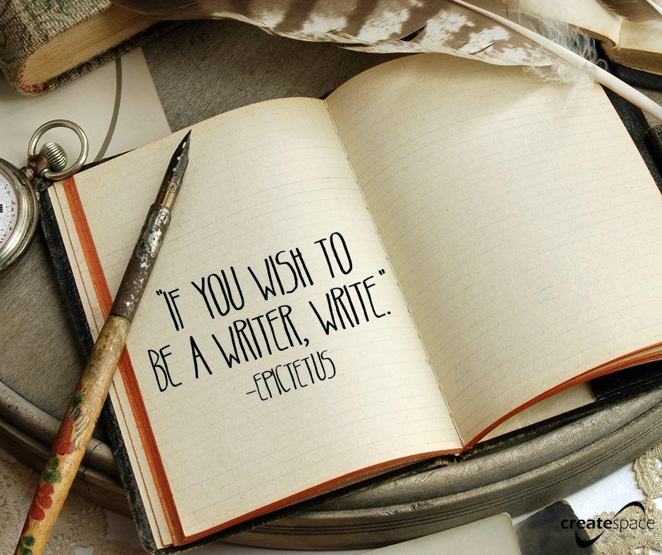 If you wish to be a writer write buch schreiben