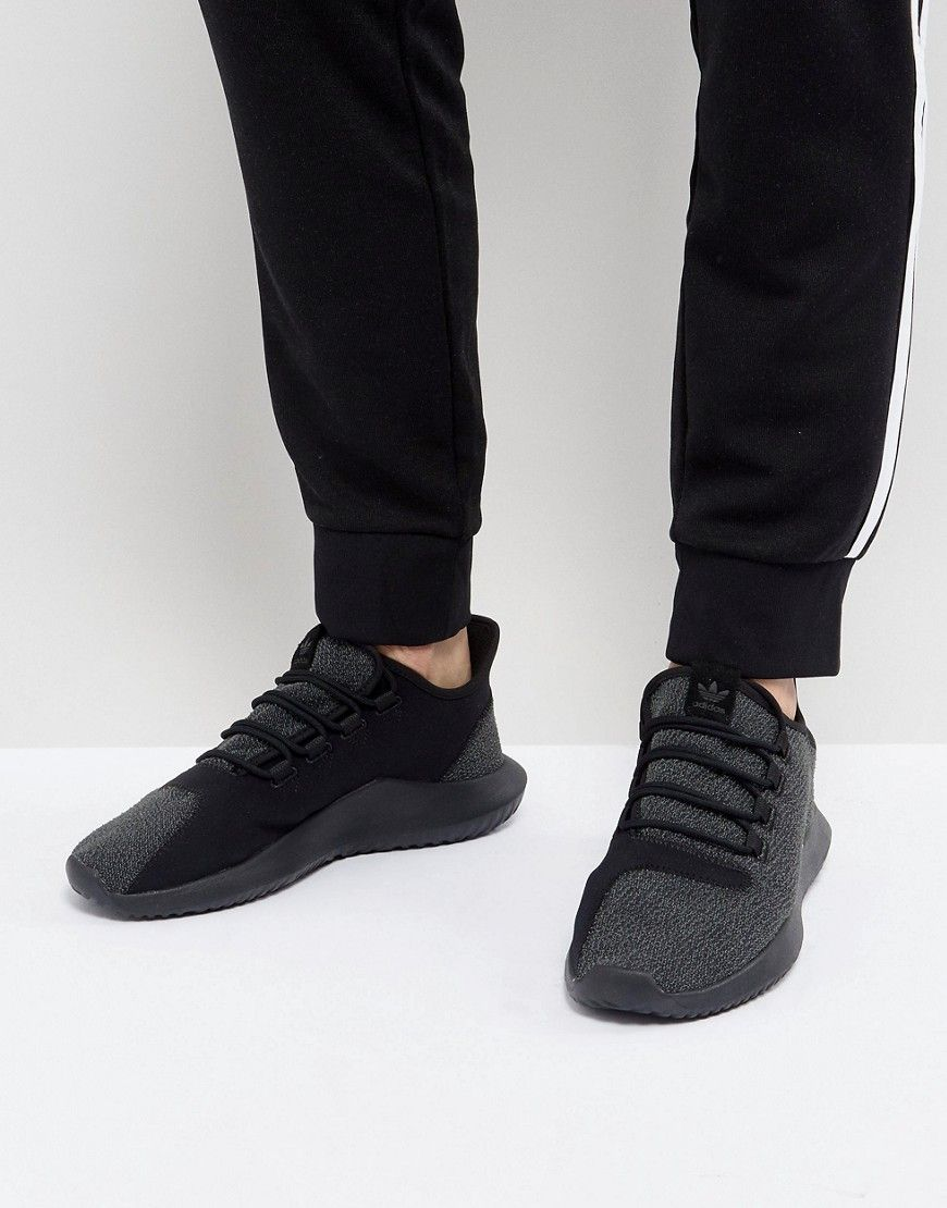 new concept 63d9b 07e49 ADIDAS ORIGINALS TUBULAR SHADOW SNEAKERS IN BLACK BY4392 - BLACK.   adidasoriginals  shoes
