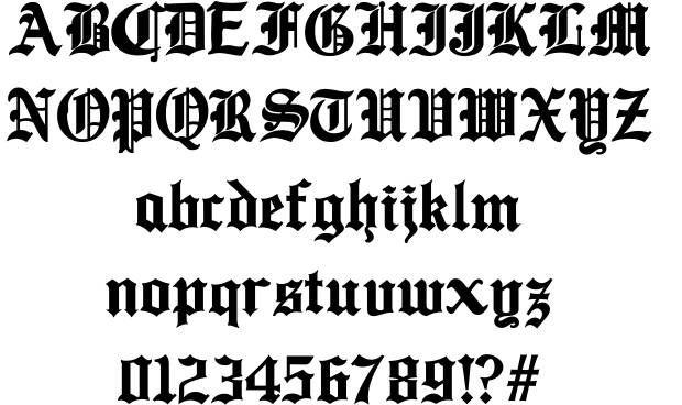 Ancient font by jorge paulino dzul koyoc http