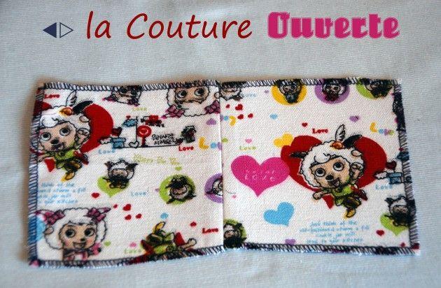 [Différentes Coutures de Montage] La couture ouverte - Le blog thread&needles