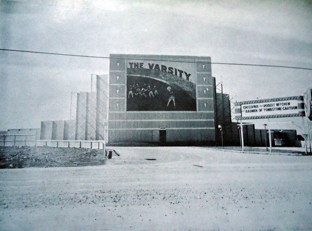The Varsity Drive In Theatre Culebra Road At Bandera