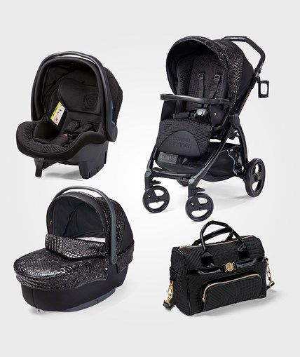 e0afc4af6 Young Versace Stroller Black Coches Para Bebes, Coche De Niño, Sillita De  Paraguas,