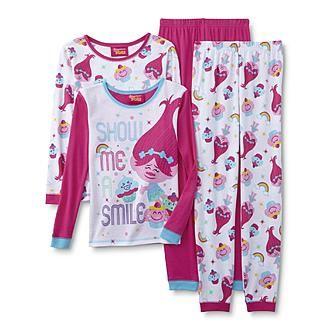 Trolls Girls Find Your Happy Place Pyjama Sets