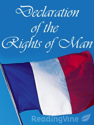 Declaration of the Rights of Man and Citizen Reading Passage