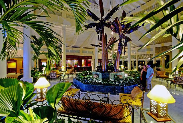 Grand Bahia Principe El Portillo Lobby Honeymoon Getaways Places To Go Samana