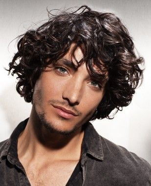 A Long Black Wavy Curly Messy Hairstyle By Fabio Salsa In