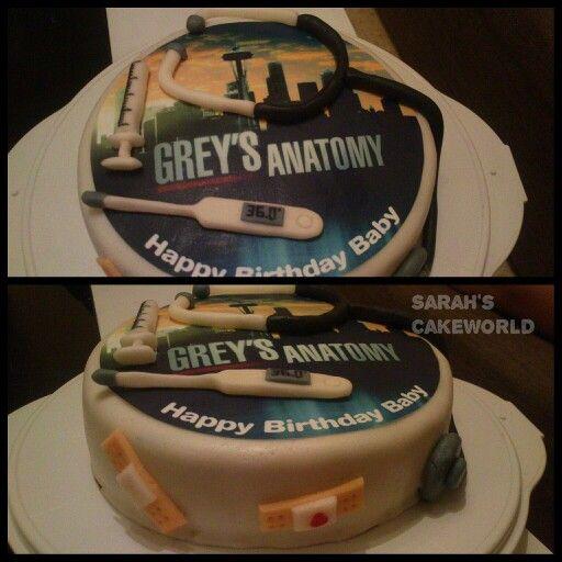 Grey S Anatomy Cake In 2019 Greys Anatomy Shirts