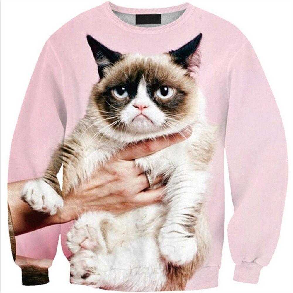 Womens Mens 3d Print Realistic Space Galaxy Animals Hoodie Sweatshirt Top Jumper Pink Cat Sws0215 Sweatshirts Hoodie Women Hoodies Sweatshirts Sweatshirts Women [ 1000 x 1000 Pixel ]