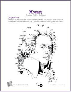 English worksheets: READING ACTIVITY- MOZART