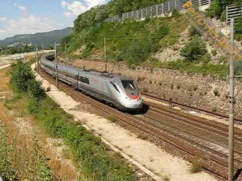 ETR 500 presso Gardelletta - ETR 500 near Gardelletta