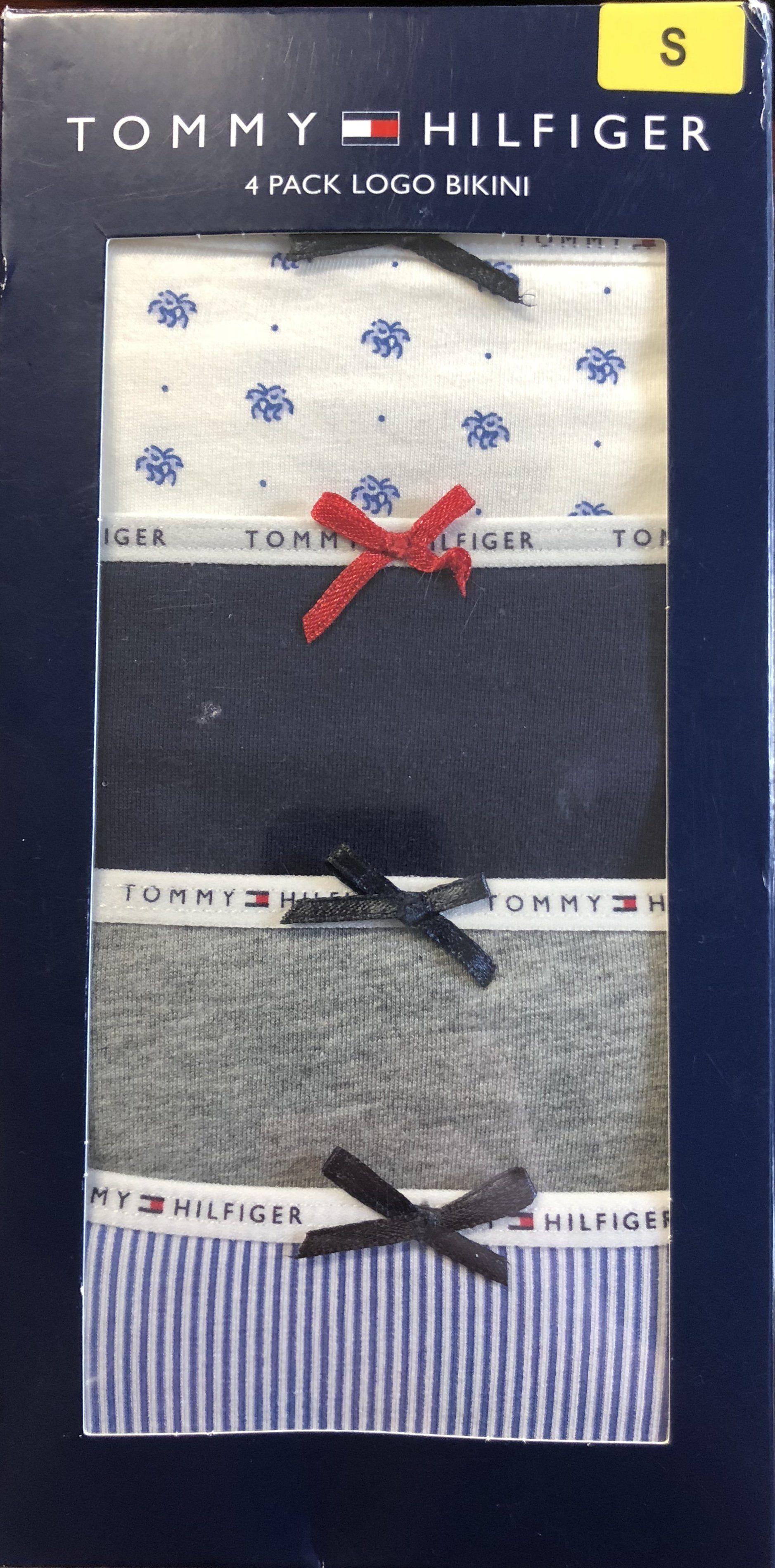 355162586834 Tommy Hilfiger Women's 4 Pack Logo Bikini Underwear   Ladies   Tommy ...