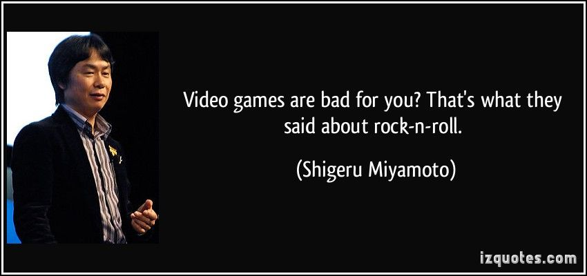 video games are bad for you that s what they said about rock n