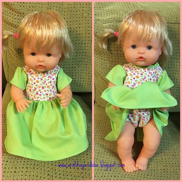 A ratitos perdidos El armario de Nenuco  Others Dolls Otras Muecas  Pinterest  Ropa de mueca Muecas y Patrones de vestidos