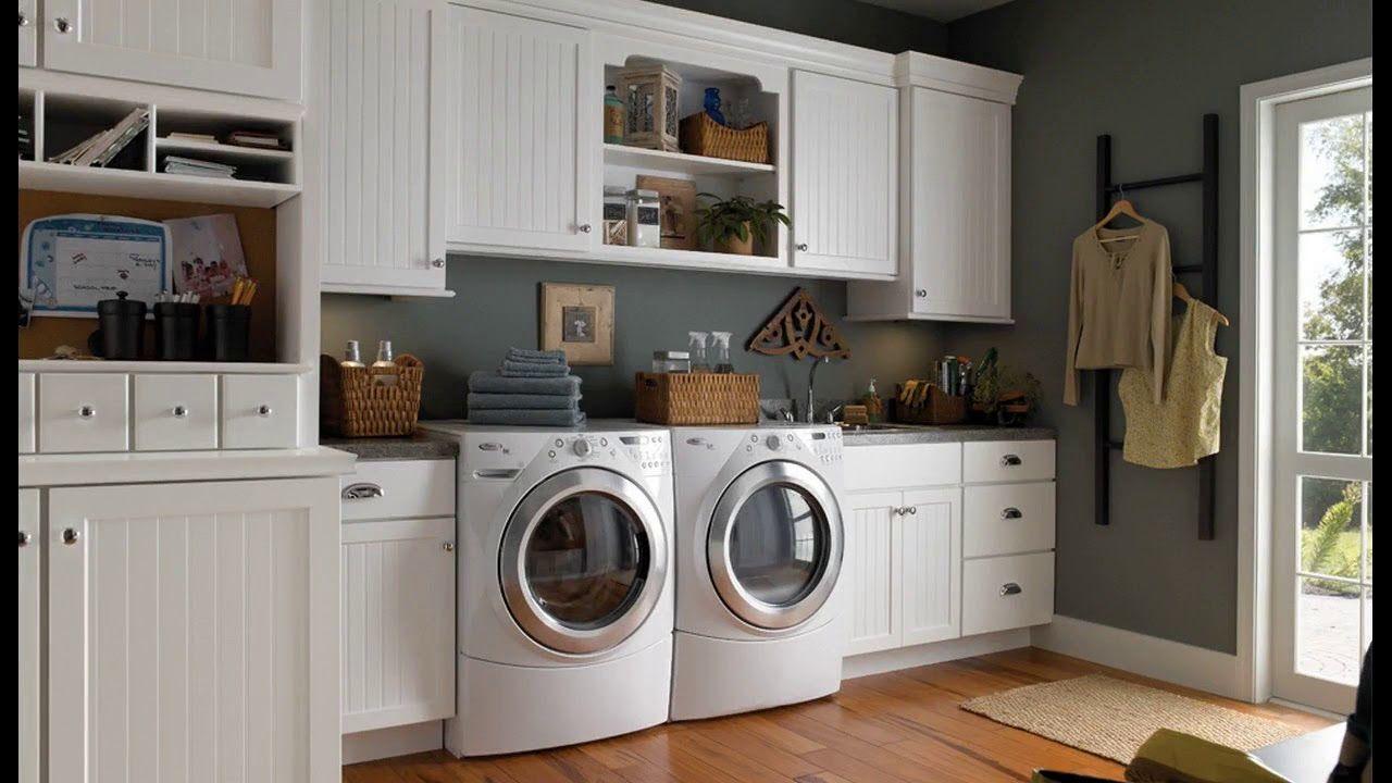 Laundry Room Organization Design Decorating Ideas Minimalist