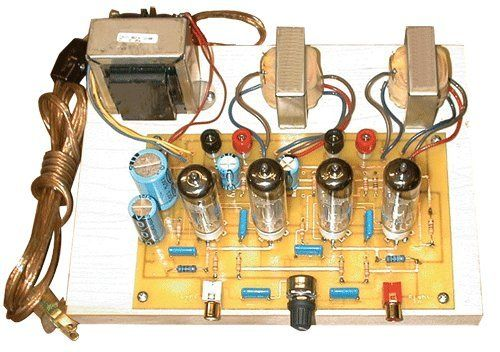 Robot Check Diy Amplifier Home Stereo Amplifier Valve Amplifier