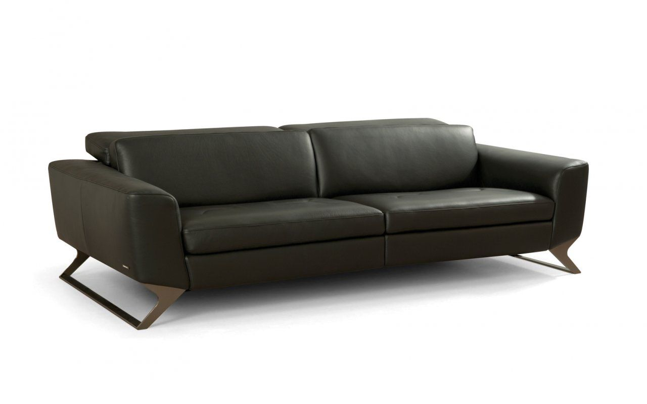 Frequence Leather Sofa Canap En Cuir Sacha Lakic Design For  # Canape Cinema Roche Bobois