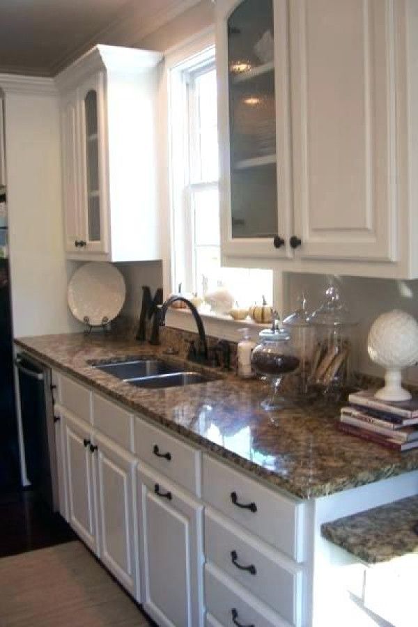 30 White Cabinets Brown Countertops In 2020 Kitchen Cabinets And Granite Kitchen Remodel Kitchen Renovation
