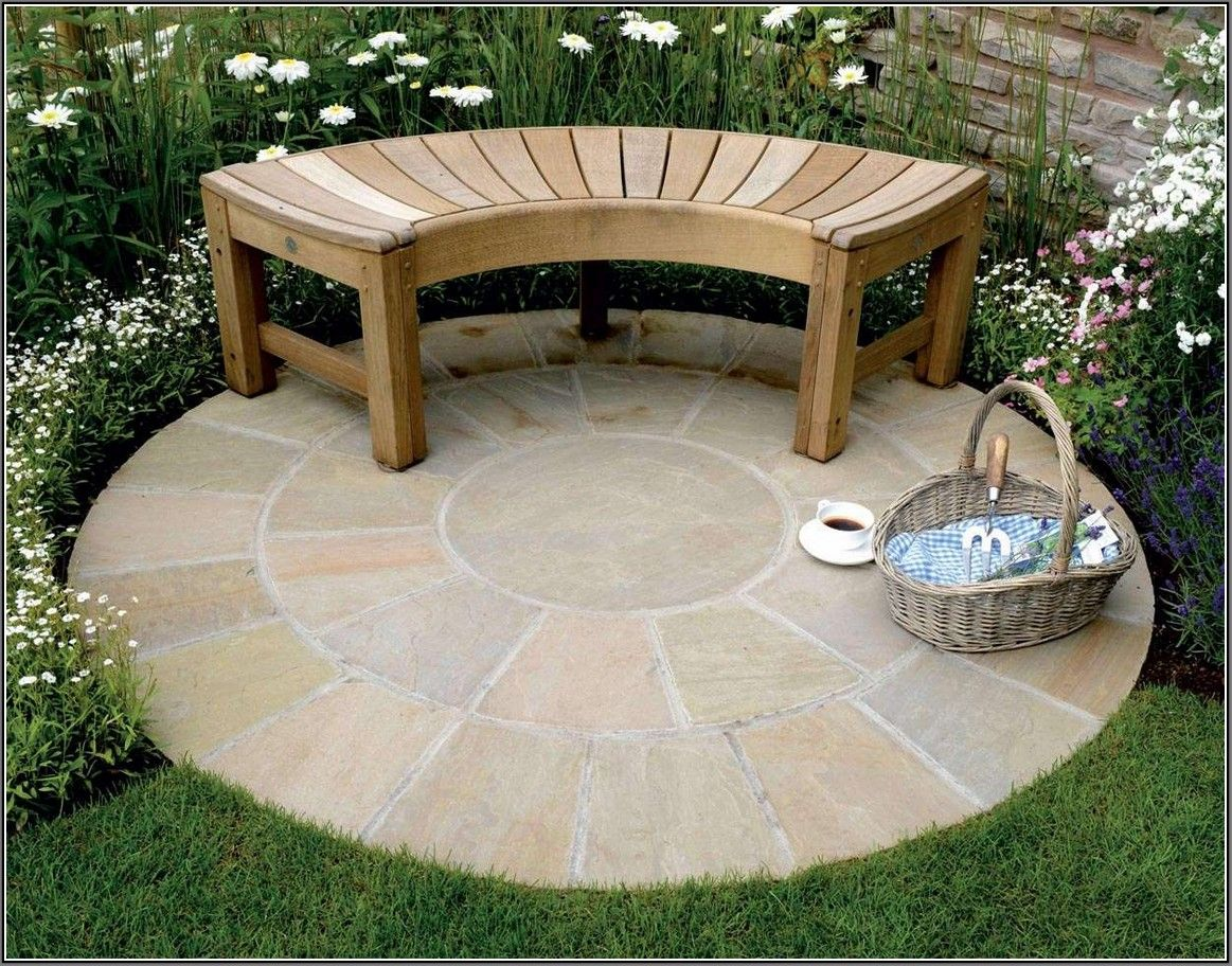 Round Patio Designs Great With Photos Of Round Patio Exterior 13