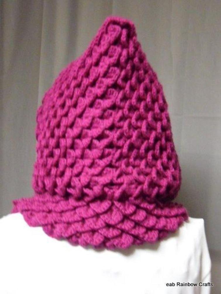 Raspberry Dragon Stitch Scoodie | Pinterest