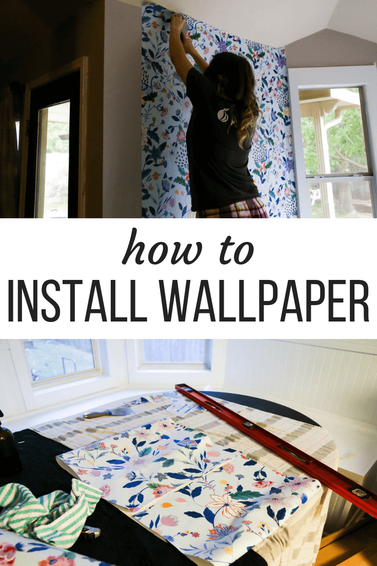 How to Install Wallpaper (Plus an Anthropologie Wallpaper