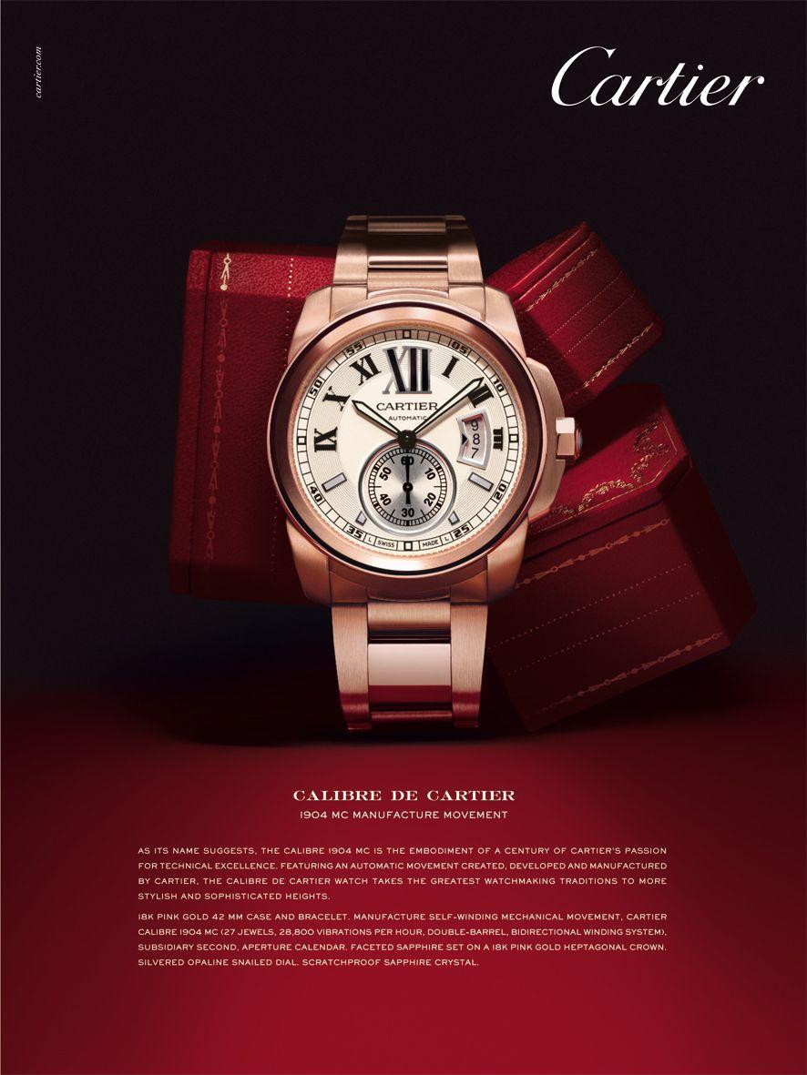 Calibre de Cartier Advertising  65bd903235b