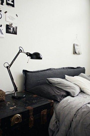 idee per comodini fai da te - baule per la camera da letto | tess ... - Bauli Per Camera Da Letto