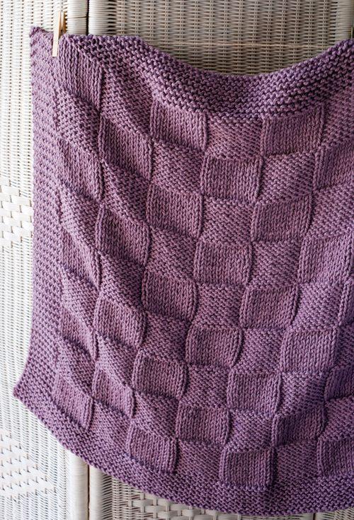 Lanukas: Una manta cuadriculada para bebé | mantas bebé | Pinterest ...