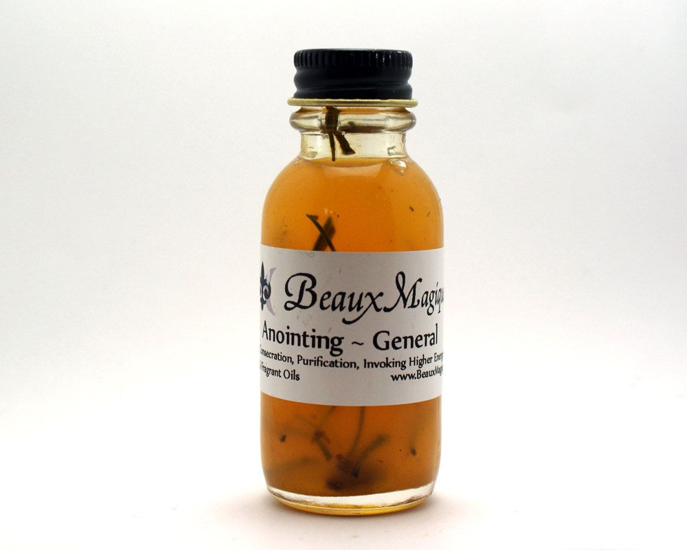 Anointing ~ Altar Oil, Conjure Oil, Ritual oil by BeauxMagique on