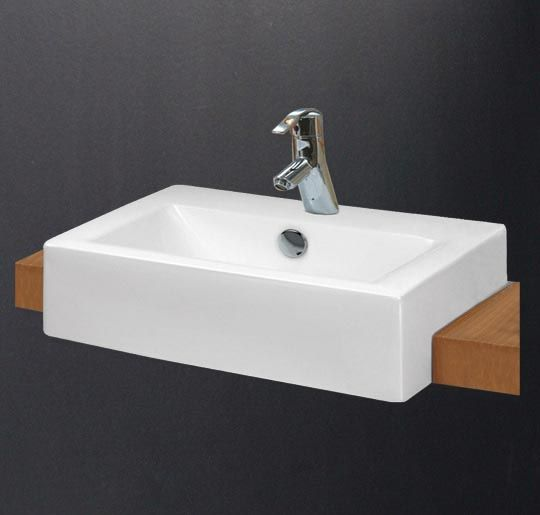 Buy hindware enigma semi recessed basin 91012 in for Bathroom wash basin designs india