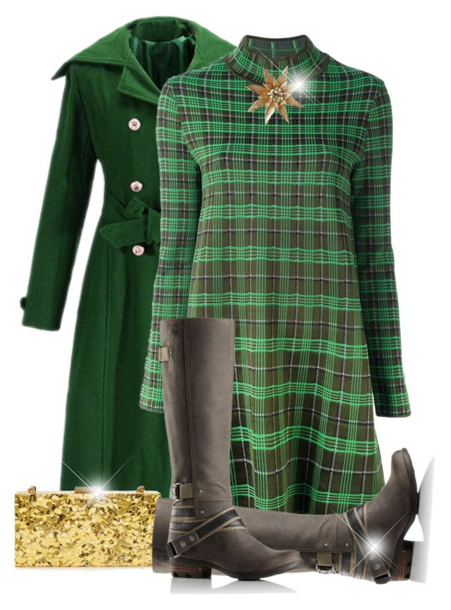 """""""Untitled #2637"""" by jodilambdin ❤ liked on Polyvore featuring M Missoni, Sondra Roberts and SOREL"""
