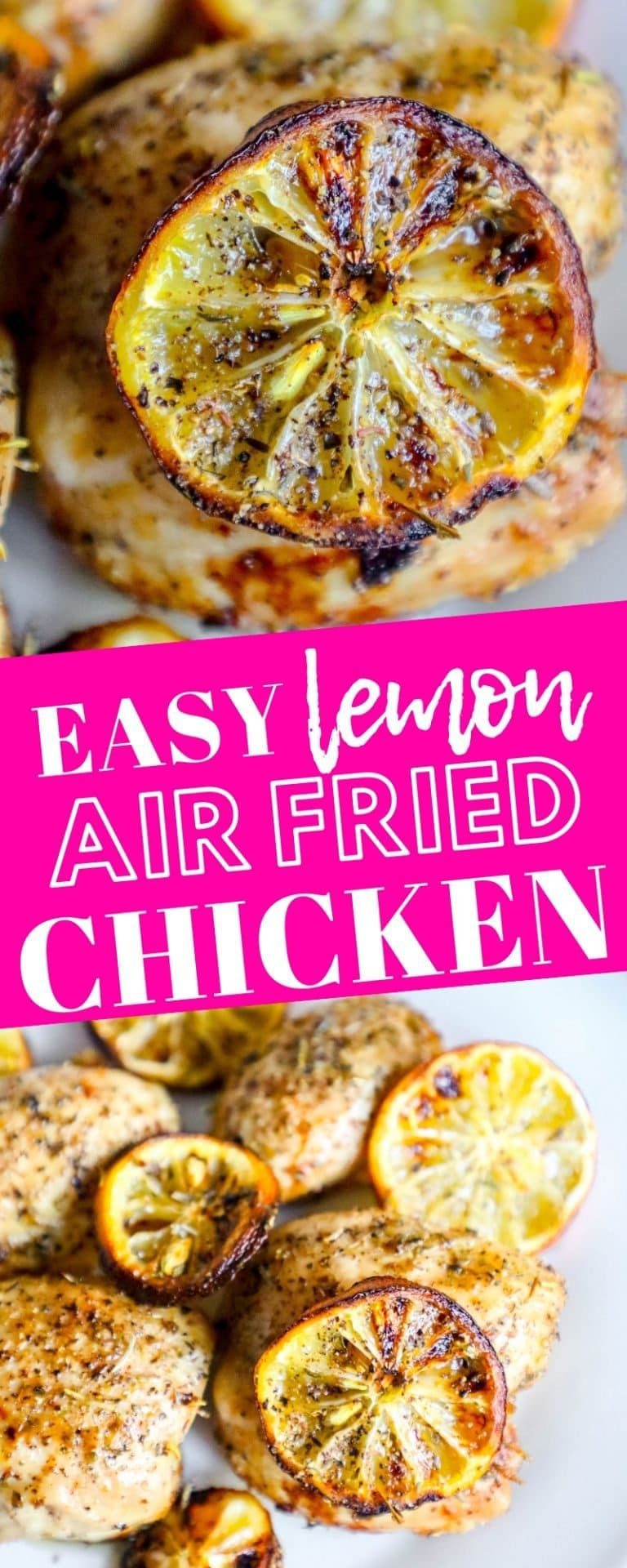 Easy Air Fryer Lemon Chicken Recipe - Sweet Cs Designs