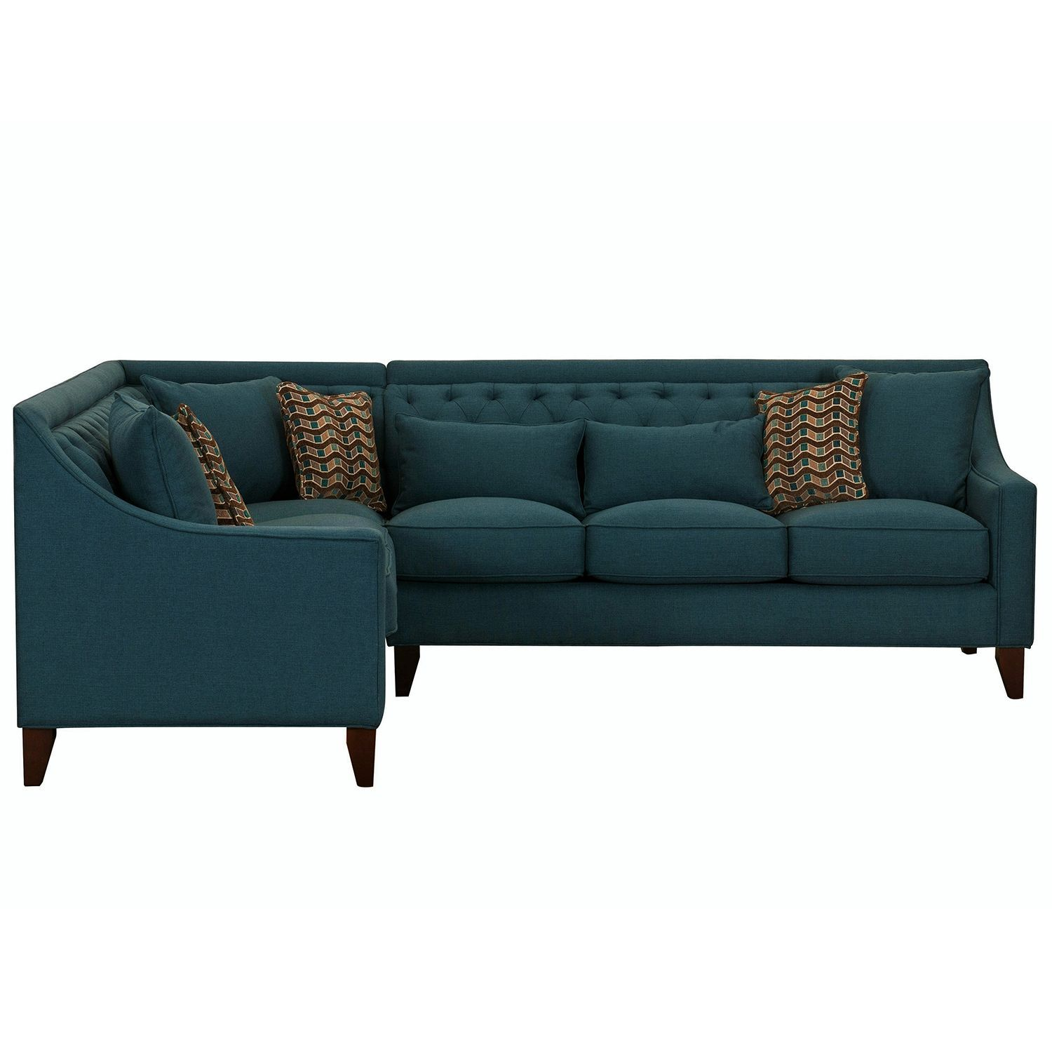 Fulla left arm facing sofa teal