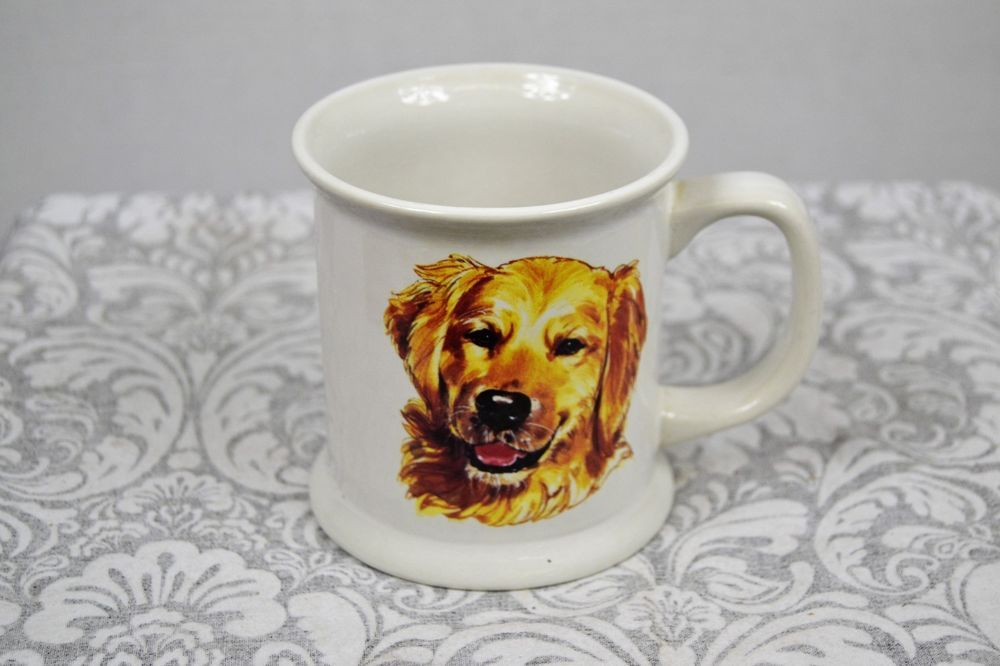 Golden Retriever Collectible Coffee Tea Hunting Dog Puppie Mug Cup