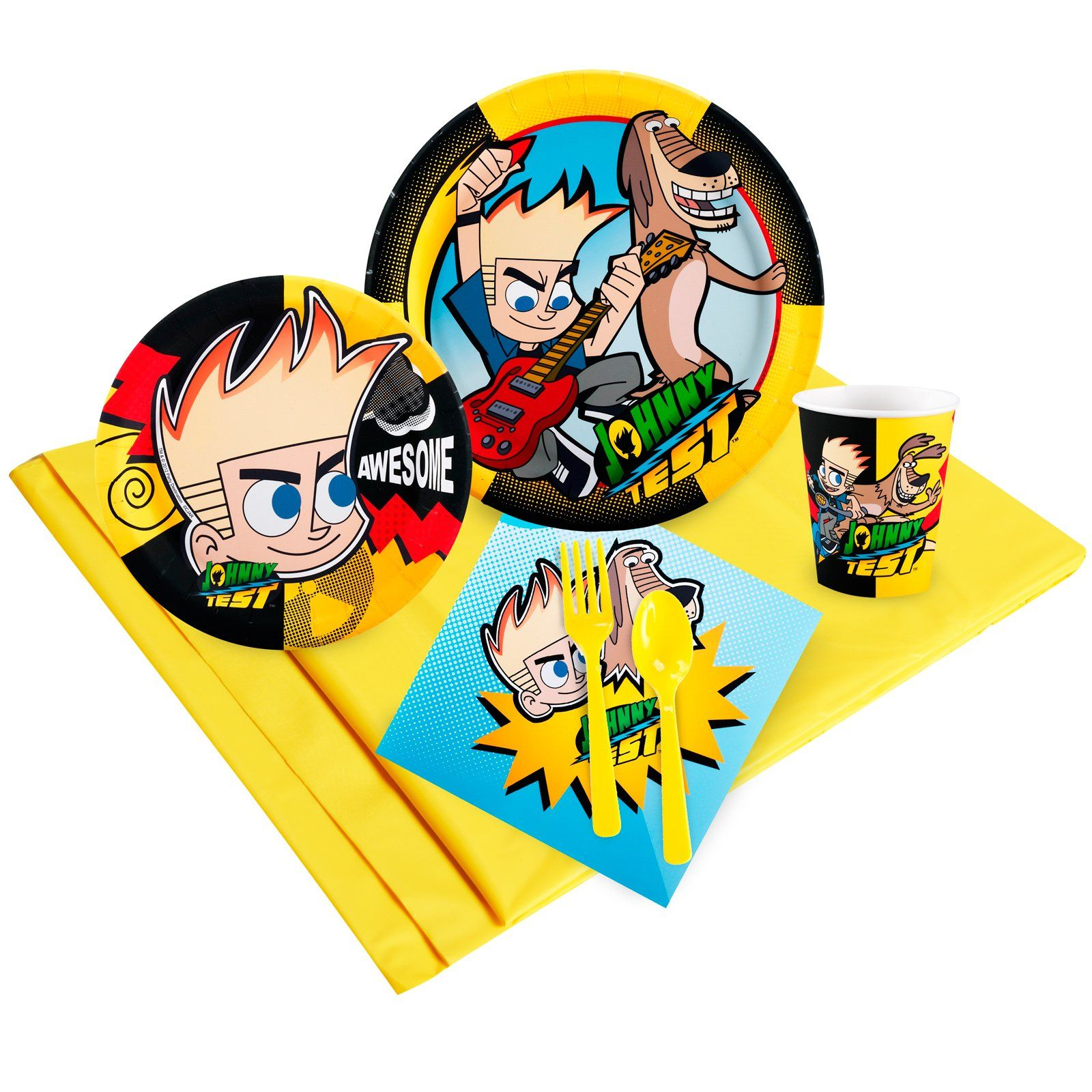Johnny Test Just Because Party Pack for 8, 96453 | Johnny Test party ...