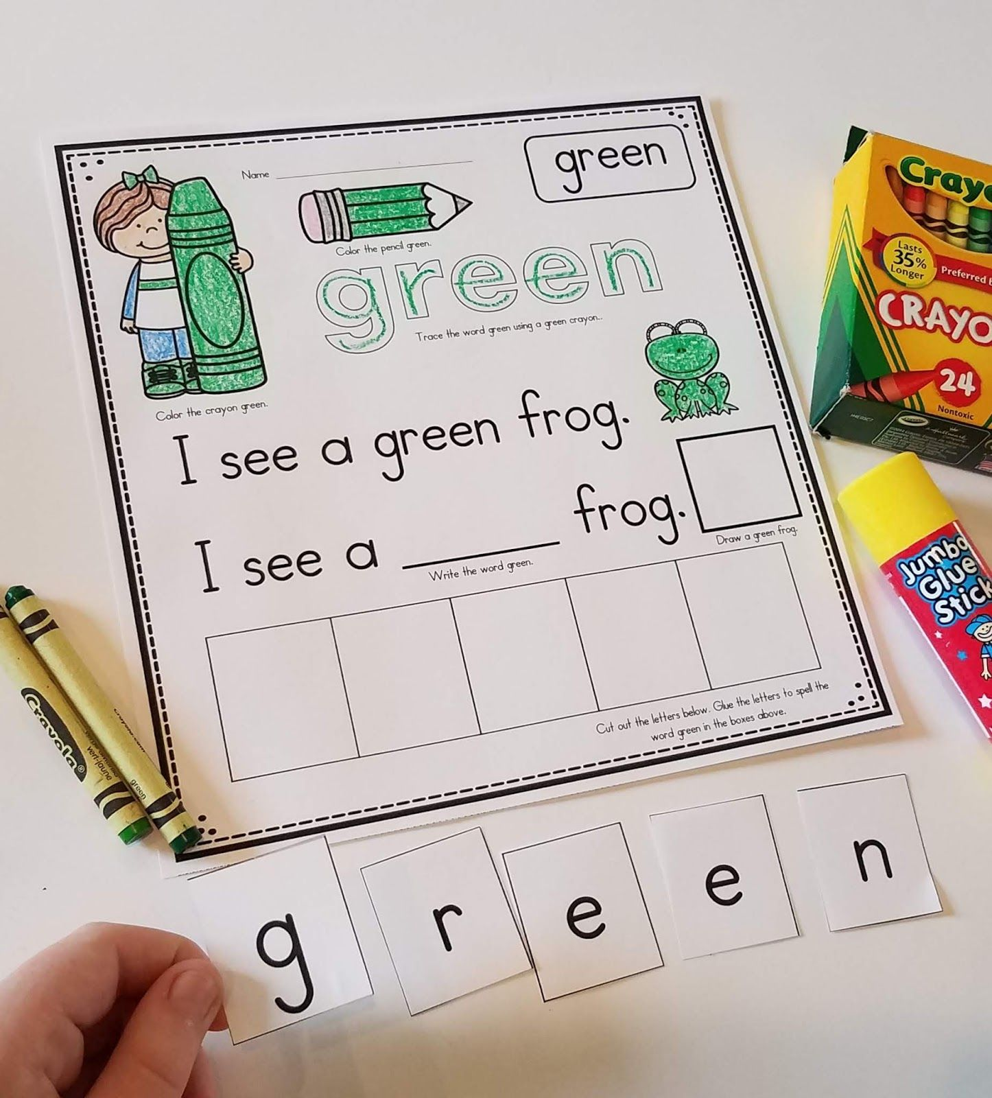 10 Color Word Books