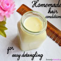 3 DIY Shea Butter Hair Conditioner Recipes for Nat+#butter