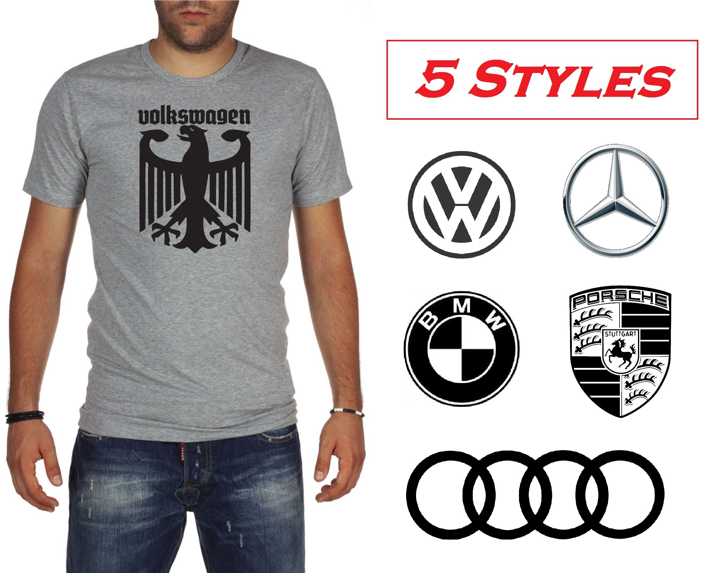 5 styles bmw volkswagen audi porsche mercedes benz german for Mercedes benz wear