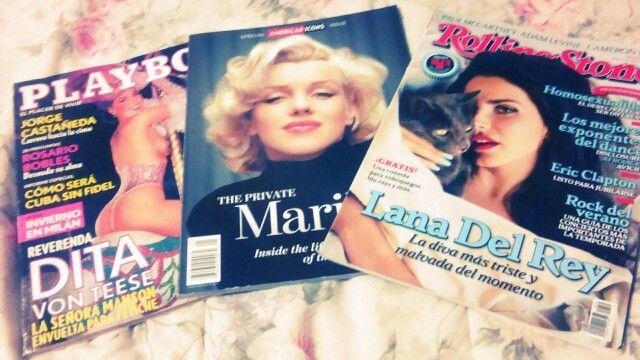 My favorite magazines ~