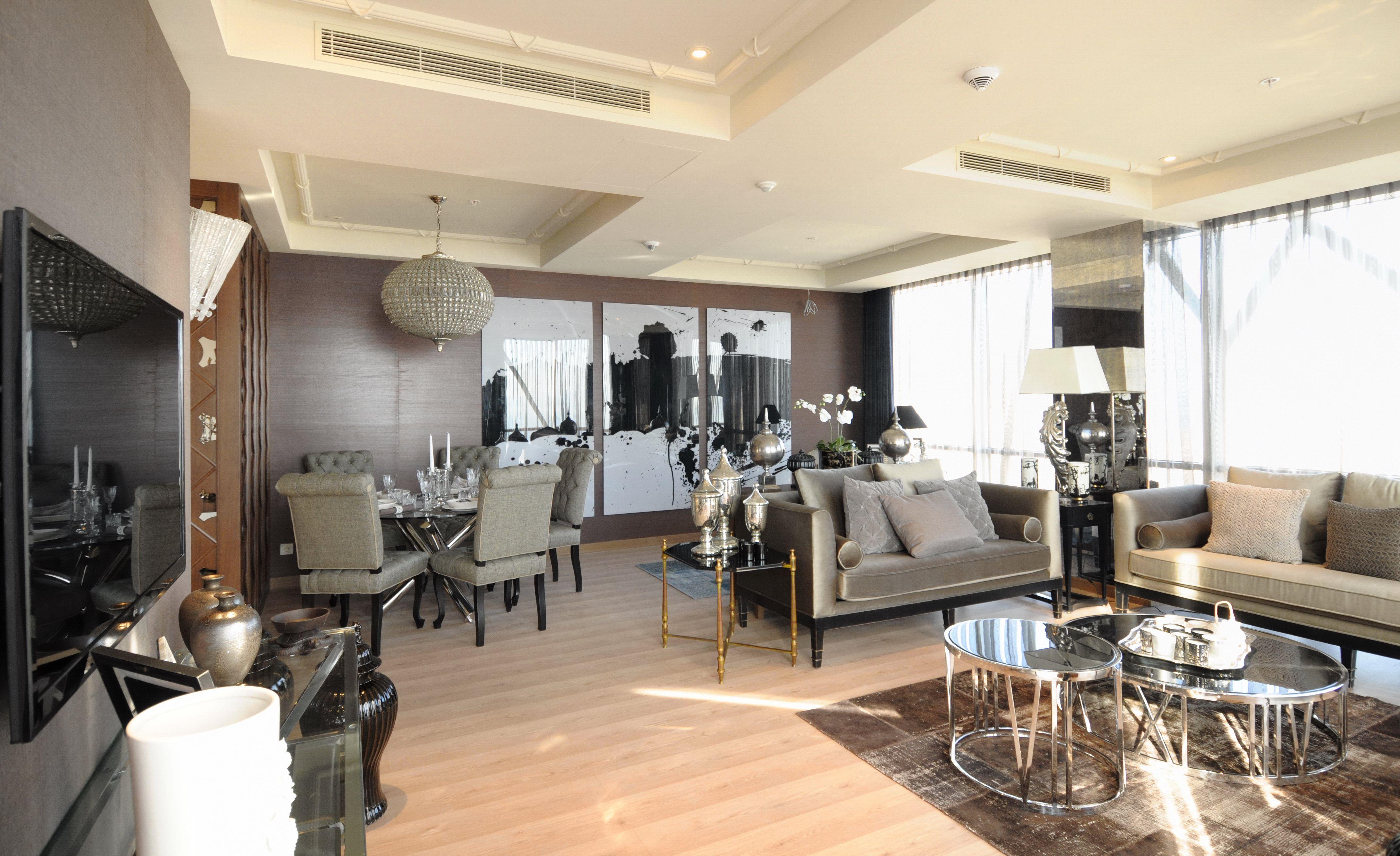 Dumankaya ritim stanbul rnek daire salon ritim for 30 m2 salon dekorasyonu