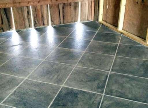 Tile On A Concrete Floor